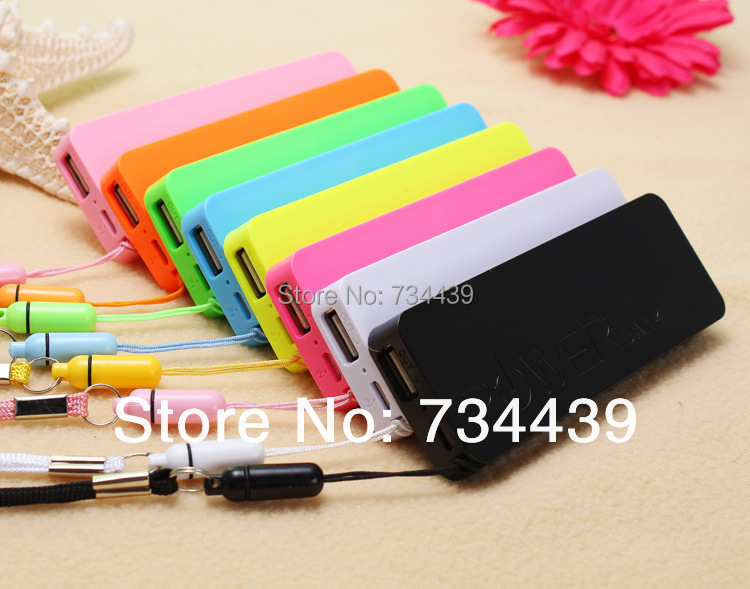 Newest 1pcs Ultra-thin 5600mah perfume polymer mobile power bank general charger external backup battery pack free usb cable(China (Mainland))