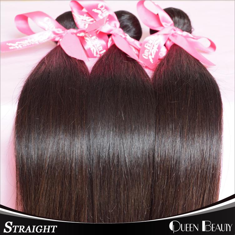 7A Brazilian Virgin Hair Straight 3Pcs Lot Rosa Hair Products Remy Human Hair Unprocessed Virgin Brazilian Hair Weave Bundles(China (Mainland))
