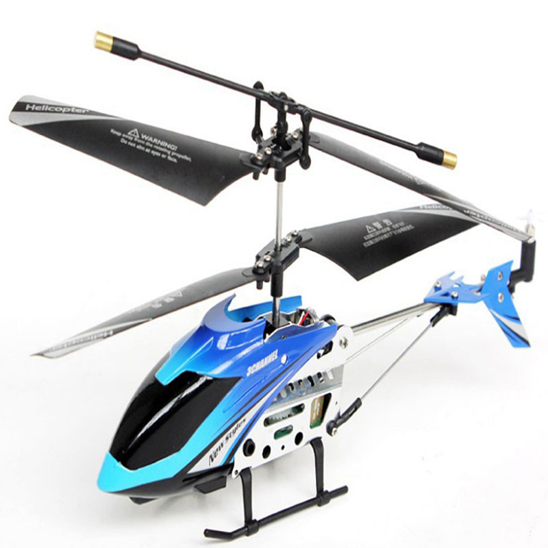 GPTOYS M310 3CH New Version IR Remote Control Mini Metal Gyro RTF 3.5Channel RC Helicopter Blue Classic Toys VS Syma S107 S107G(China (Mainland))