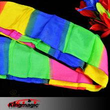 Magic Tricks Colorful Long Silk(16*500cm) King magic props(China (Mainland))