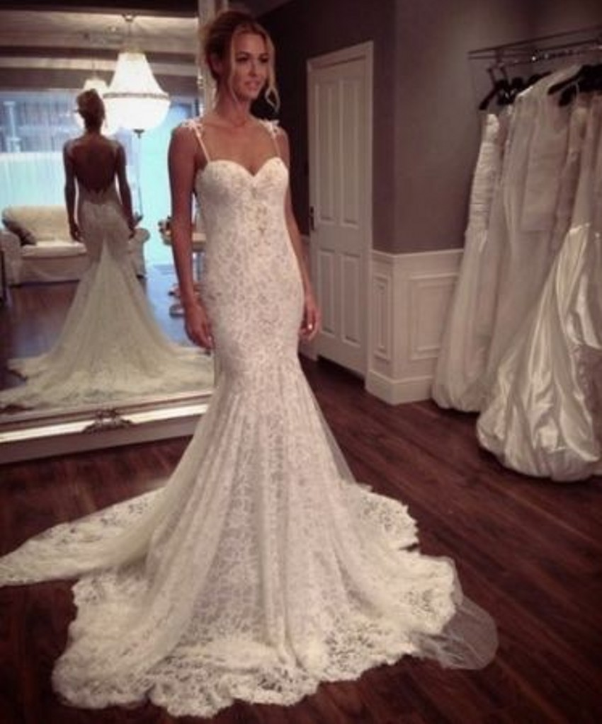 Buy vintage sexy backless bride bridal for Buying wedding dress from china