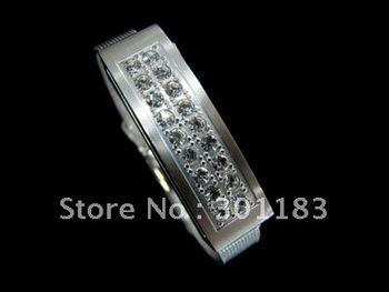 8GB white wristband Diamond  USB Flash memory stick