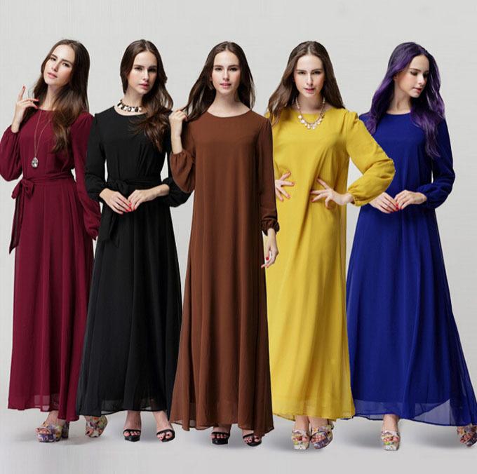 2015 Muslim abaya dress for women Islamic dresses dubai Islamic clothing Muslim kaftan abaya Dress turkish jilbab hijab CS3192