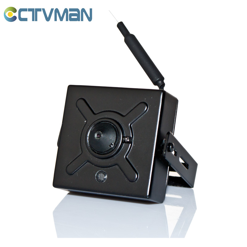 CCTVMAN Super IP Mini Camera 720P Wireless WIFI Pinhole Wide Angle Lens 1MP Audio TF Card Slot Support P2P Micro IP Cam(China (Mainland))