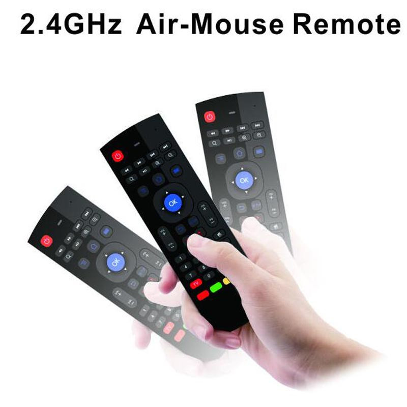2.4Ghz Fly Air Mouse MX3 Wireless Mini Keyboard For mini pc HTPC Laptop smart tv kiii z4 m8s t95 Android TV Box Remote Control(China (Mainland))