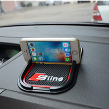 Super Sticky Pad Anti-slip Mat Car Phone GPS Black AUDI Q5 Q7 A1 A3 A4 A5 A6 Series Interior Accessories Styling - Shen zheng xiao auto store
