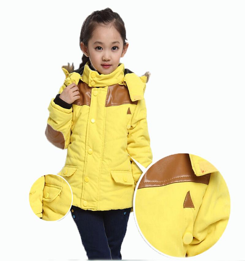 Cotton-padded jacket  2015 Unisex Girls Boys Patchwork Autumn Winter Cotton Jackets 50<br><br>Aliexpress