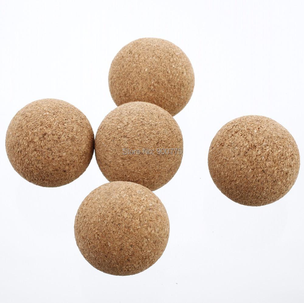 5pcs Cork FOOSBALL table soccer balls/ Quality / 35mm /soccer promotional / ball for foosballAE-08(China (Mainland))