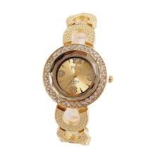 Wholesale Luxury Gold&Silver Crystal Watch Women Ladies Fashion Dress Quartz Wristwatches New Arrive TW044