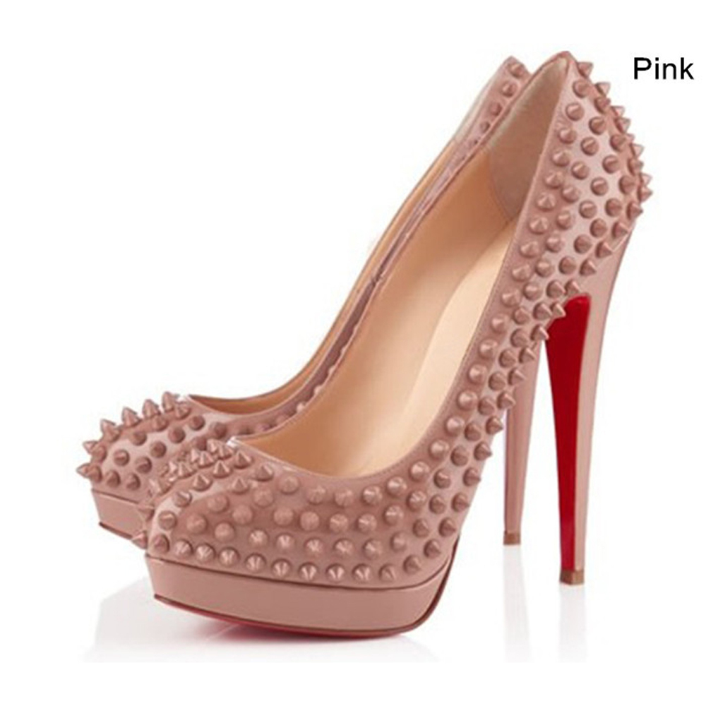 Red High Heels With Spikes