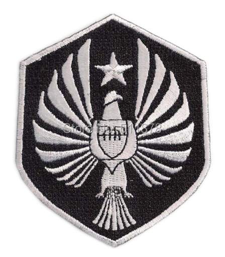 """3"""" PACIFIC RIM Movie PAN PACIFIC DEFENSE Logo TV MOVIE SERIES EMBROIDERED Sew On Iron On Patch TRANSFER Badge Gift Favor(China (Mainland))"""