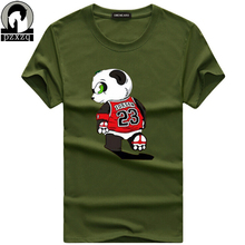 Buy Brand Summer short sleeves Men T shirt High Cartoon lovely Panda 23 Print T-shirt Fashion Novelty Style Cool Tops Tees for $5.63 in AliExpress store
