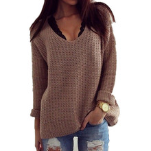2015 new fashion hot sale  autumn solid full sleeve women sweater O-neck pullovers standard women wool(China (Mainland))