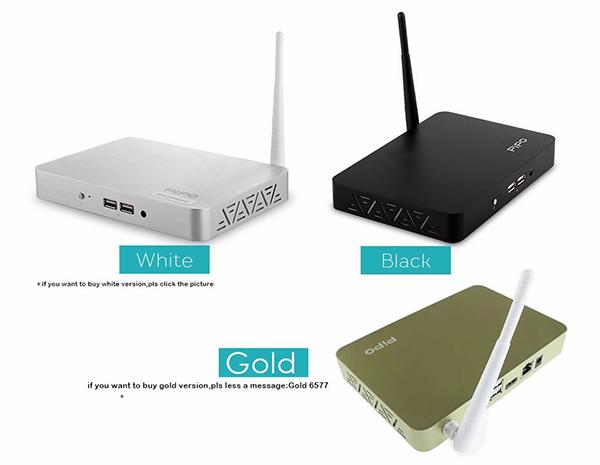 PIPO X7 Smart PC Quad Core 2GBDDRS/32GB Bluetooth 4.0 Wifi Intel Z3736F windows 8.1 TV Box Media Play free shipping(China (Mainland))