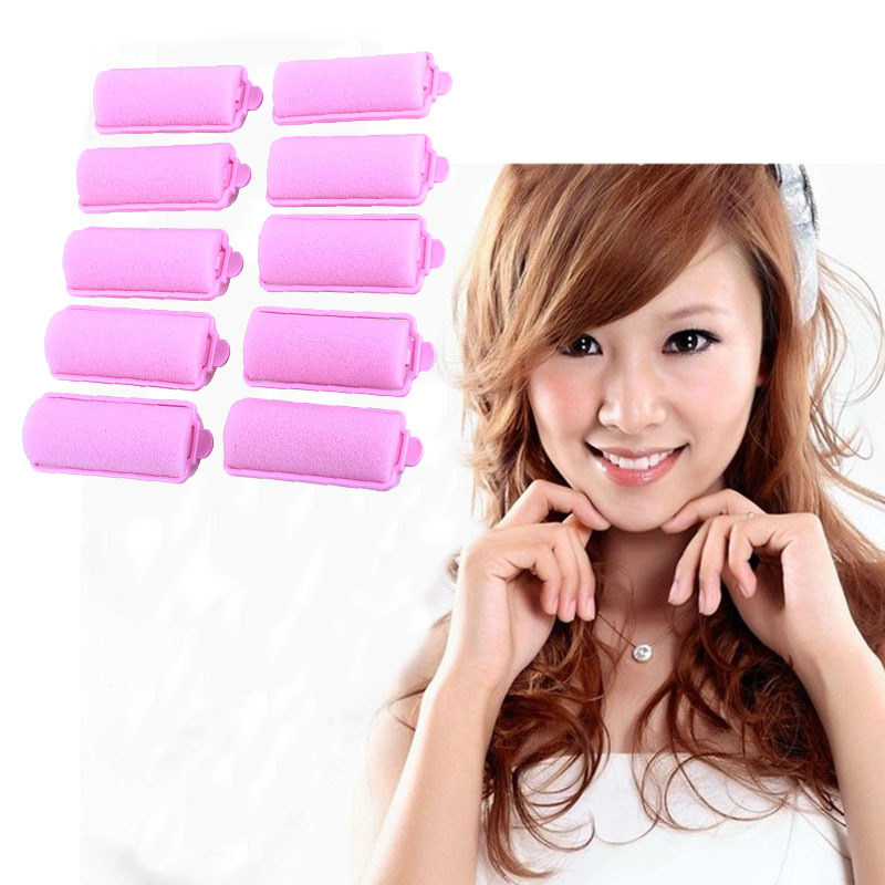 how to use foam roller hair for short hair