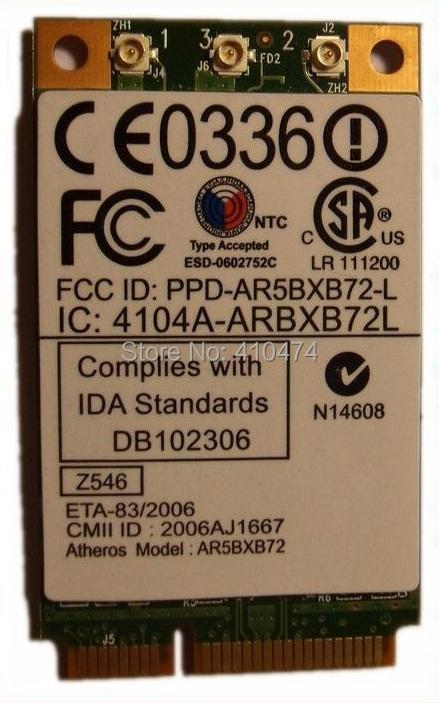 NEW Atheros AR5008 AR5418 MINI PCI-E 300Mbps Wlan WIFI Wireless Card for IBM T60 T61 X60 X61 FRU 42T0825(China (Mainland))
