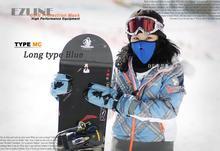 2014 New arrival 2 pcs of Half Face Ski Mask Anti Pollution Winter Veil Bicycle Cycling&snowboard Sport Masks(China (Mainland))