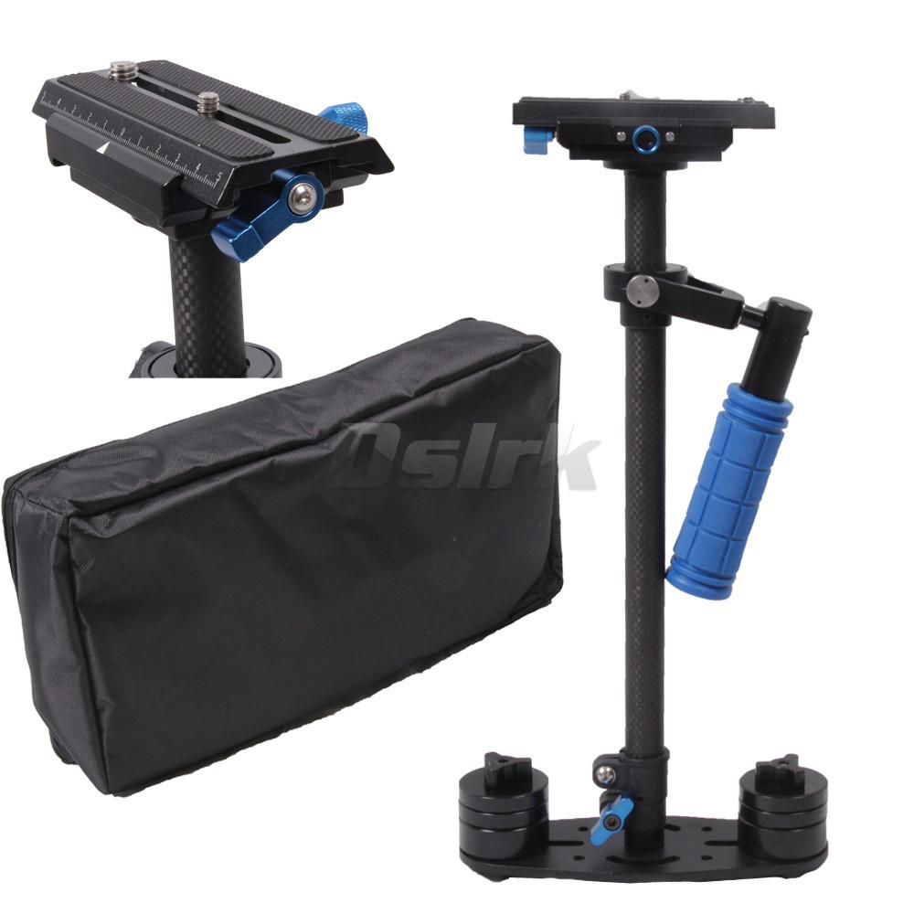 Hot Carbon Fiber DSLR  S-60 Video Camera Stabilizer S60 for DSLR camera and DV camcorder Compatible with Steadicam Arm & Vest