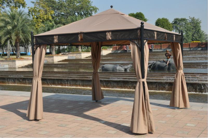 Zelt Terrasse : Online Kaufen Gro u00dfhandel terrasse pavillon zelt aus China
