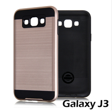 Fashion J3 xnyocn V5 Armor Case New Hybrid PC+TPU Back Covers Cases samsung galaxy J300 brushed housing Shockprof - Xnyocn Digital Store store