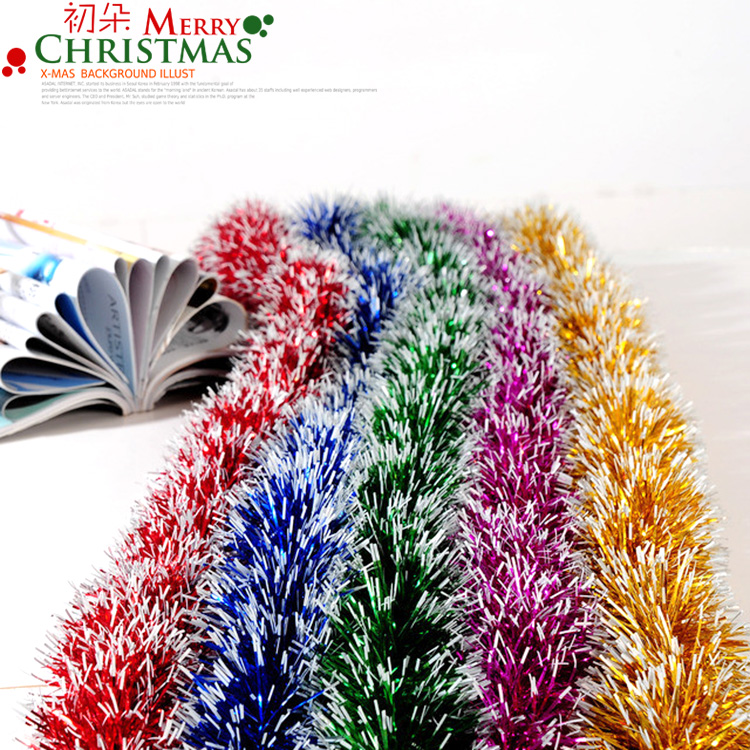 Wedding festive garland christmas decorations christmas Christmas tree ribbon garland