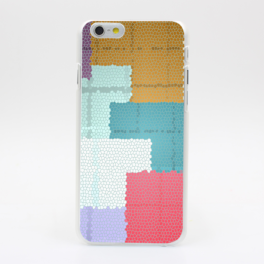1032U Shapes Forms Multi Colored Size Hard Case Transparent Cover for iPhone 4 4s 5 5s 5c SE 6 6s Plus(China (Mainland))