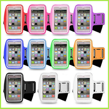 50pcs/l Armband Running Gym Sports Arm band Clear Protector Belt Soft Bag Pouch cover case For iPhone 6 6s 4.7 Inch(China (Mainland))