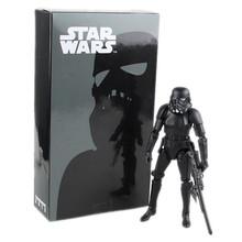 Star Wars The Black Series Storm Trooper 16cm Model Movie PVC Action Toy Figures Kids Toys