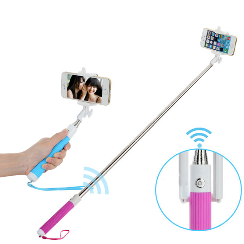 universal bluetooth selfie stick wireless handheld monopod bluetooth for iphone samsung ios. Black Bedroom Furniture Sets. Home Design Ideas
