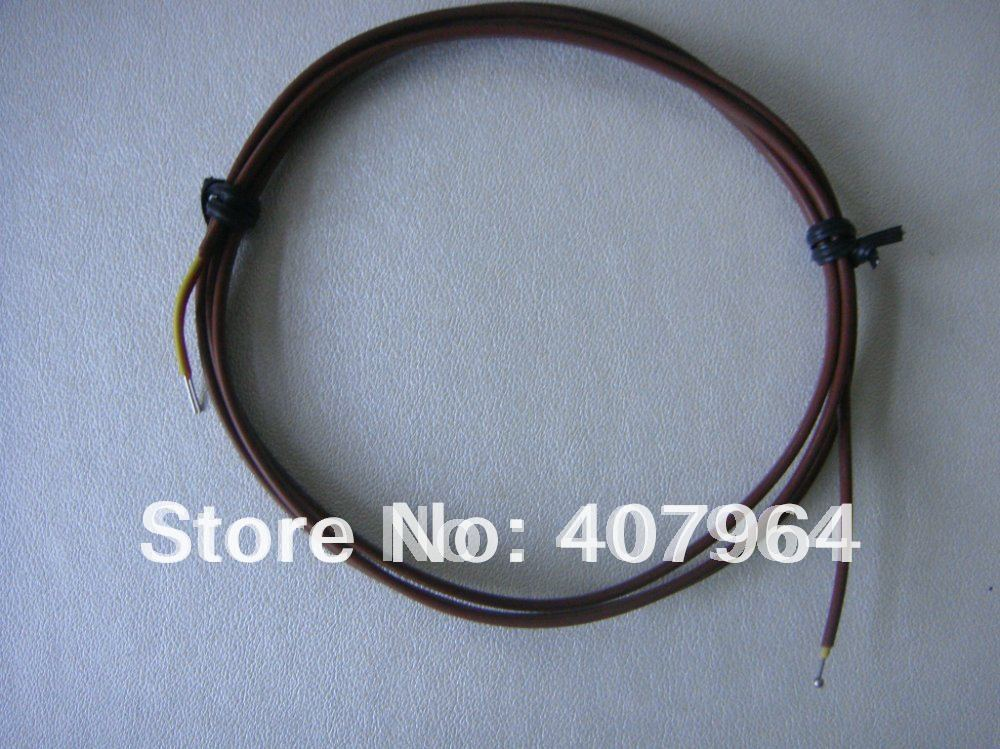 K Type Exposed  thermocouple without  Connector  ,2*0.2mm, length 2000mm<br><br>Aliexpress