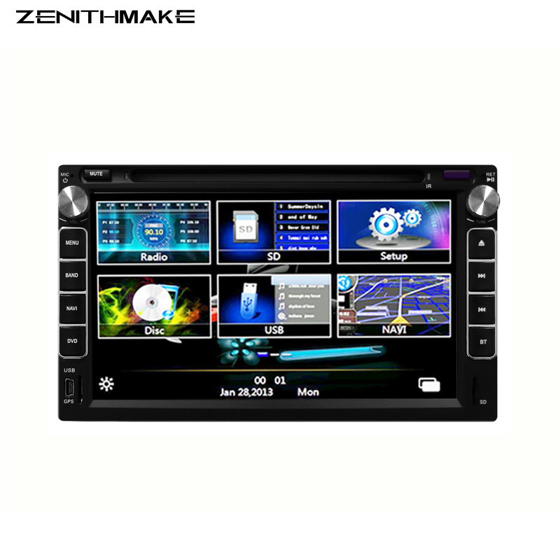 Free shipping 2 DIN Two Din 7 Inch Car DVD Player stereo for Chery Tiggo A3 A5 navigation with Bluetooth Radio USB SD Free map(Hong Kong)