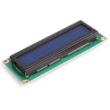 20pcs/lot 1602 LCD (Blue Screen) 5V LCD with Backlight of the LCD screen 51 Learning Board Supporting 16x2 LCD(China (Mainland))