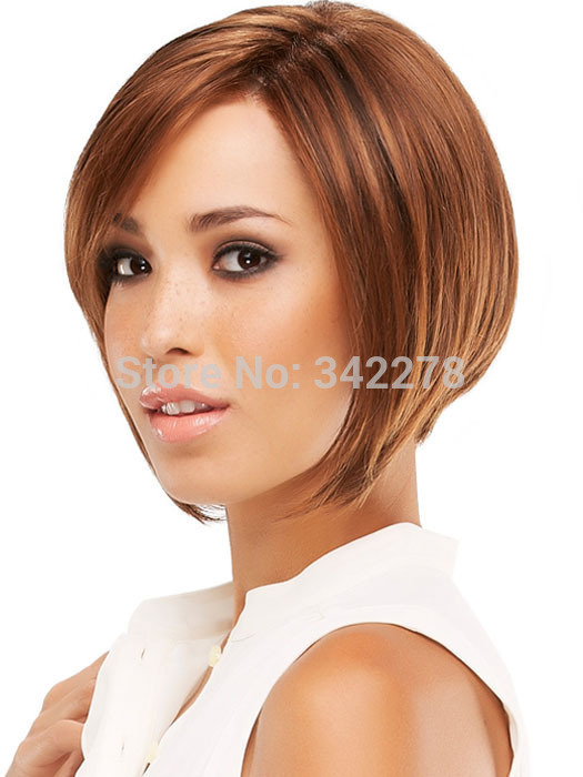 Pixie Cut Hairstyle Synthetic Wigs Short Hair Straight Blonde Wigs ...