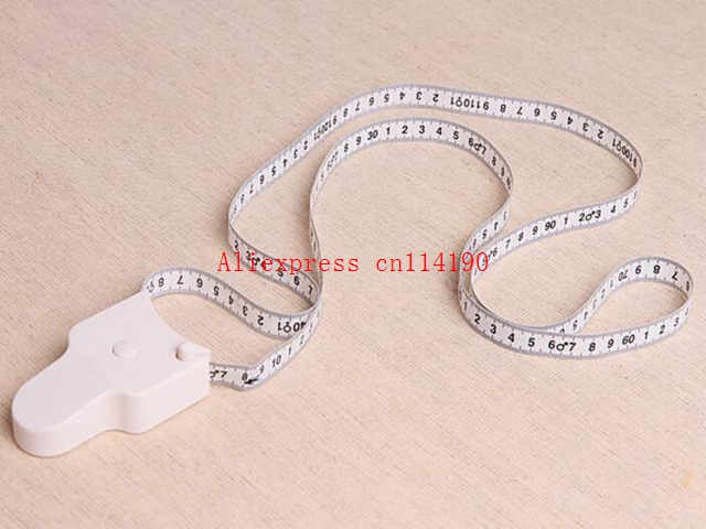 Useful 60 inch 150cm Fitness Measuring Tape Body Fat Weight Loss Measure Retractable Rule