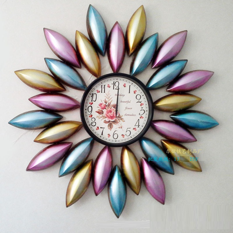 Free shipping Time sphere wall clock modern design new brand large kitchen clocks nice cheap mantel clock on sale(China (Mainland))