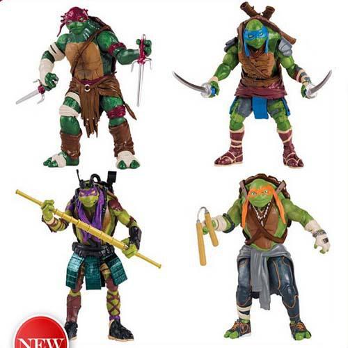 4 pieces/set 12cm Anime Cartoon TMNT Teenage Mutant Ninja Turtles PVC Action Figure Toys Dolls 50Set/lot(China (Mainland))