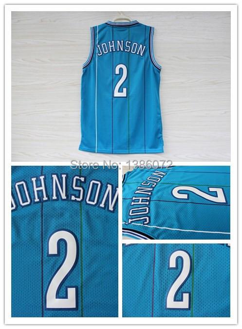 #2 Larry Johnson Jersey,Rev 30 Throwback Basketball Jersey,Best quality,Authentic Jersey,Size S--XXXL,Accept Mix Order - jerseys store