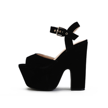 5 cm Platform Sandals sexy Summer 15cm High Heeled Sandals Shoes coarse fish mouth high waterproof catwalk shoes zapatos mujer(China (Mainland))