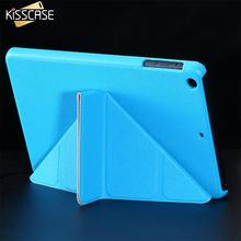 KISSCASE Luxury Matte Magnetic Flip Leather Case For iPad Mini 1 2 Retina 3 Stand Smart Sleep Wake Cover For iPad Mini 1 2 Cases(China (Mainland))