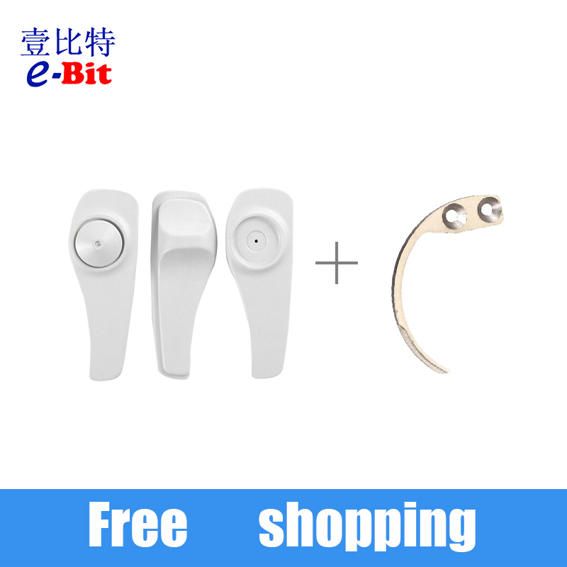 Detacher Hook tag remover Security Tag Remover Used For EAS Hard Tag 1pc hood detacher +3 pcs tags free shipping(China (Mainland))