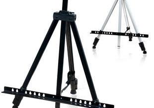 Hang cloud easel sketch fluorescent plate bracket folding aluminum stand display rack<br><br>Aliexpress