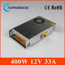 Электропитание питания 12 V 33A один выход переключение электропитание блок питания 400 Вт 12 V 33A переменный ток в постоянный ток питания S-400-12