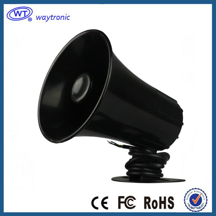 Powerful Universal Public Speaker Light-weight Wired Alarm Siren Horn Outdoor Loud Warning For Security(China (Mainland))