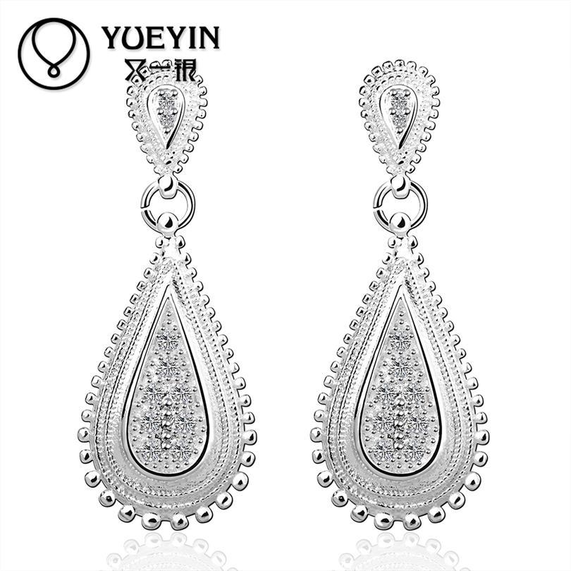 product YUEYIN Earrings For Women Summer Style Stud Earrings Hot Sale Orecchini Vintage Ear Jacket Triangl Meus Pedidos