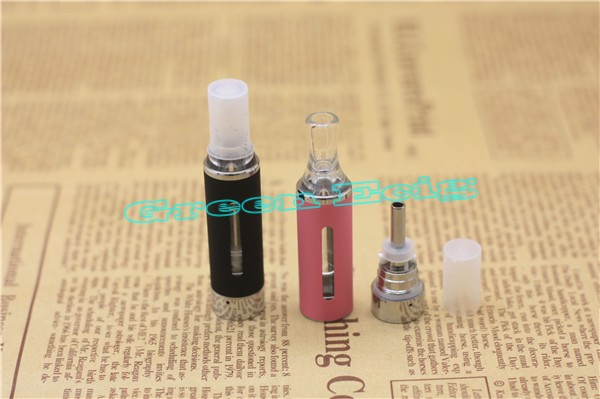 1 Piece MT3 Atomizer 2 4ml Capacity evod Clearomizer mt3 bcc Bottom Coil Heating MT3 Cartomizer