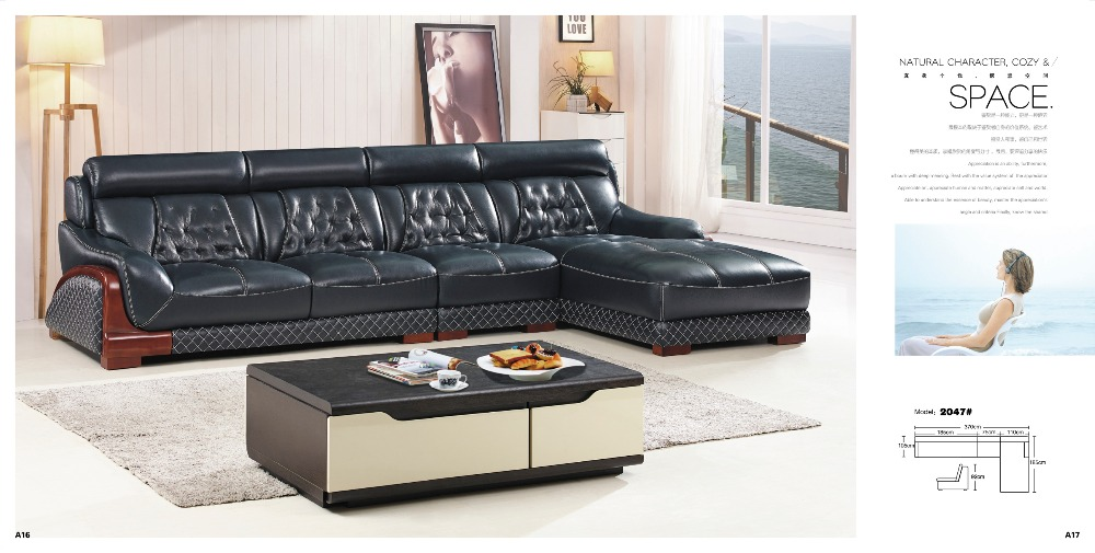 excellente qualit inclinable en cuir canap ensemble. Black Bedroom Furniture Sets. Home Design Ideas