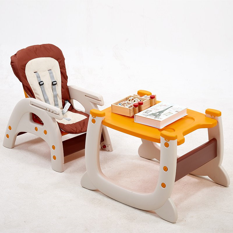 2016 Last Edition Infant Chair Plastic Learning Table Dining Chair Portable 3 In 1 Chair for Baby 6 Months-8 Years Old Wholesale