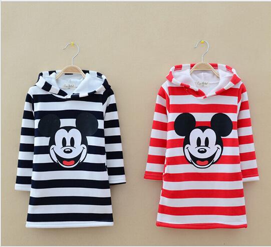 2015 New spring autumn 3-8T baby girls long Sleeve t shirts children hoodies kids cartoon Hoodies t-shirt children outerwear(China (Mainland))