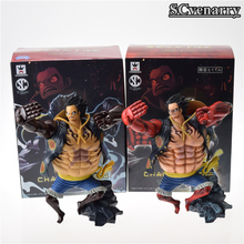 Buy One Piece 2 Style Gear Fourth Luffy CHAMPION 2014-2016 MONKEY.D.LUFFY PVC Action Figure Model Toy Christmas Gift 16cm for $14.25 in AliExpress store