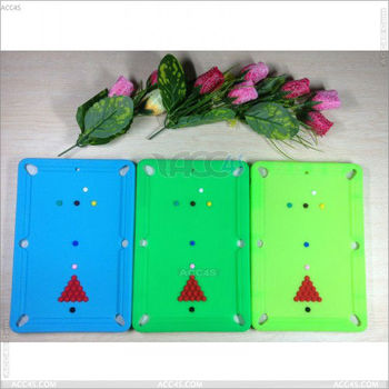 Billiard table Silicone Case Cover for iPad Mini P-IPADMINISC007